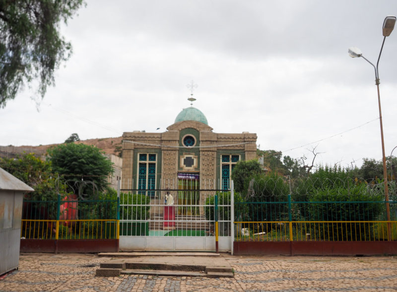 聖櫃(アーク)が収められている修道院